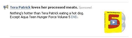 Tera Patrick Facebook SponsoredAd